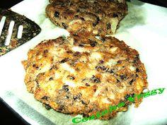 Cozinha Veggy: Hambúrguer de feijão preto e batata doce