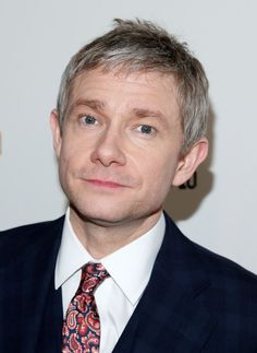 Martin Freeman - 'Fargo' Screening in NYC // Isn't he handsome? And why does he have to wear that tie from Peckham Rye? I mean... <3