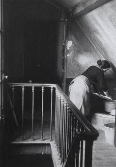 Photograph By André Kertész ~ Washerwoman ~ Quartier Latin ~ Paris ~ 1928 ~