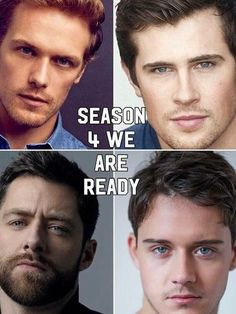W are so ready for these amazing Lads Outlander Quotes, Outlander Casting, Sam Heughan Outlander, Outlander Series, Outlander 2016, Diana Gabaldon Books, Lord John, John Bell, Richard Rankin
