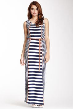Sleeveless Striped Dress on HauteLook