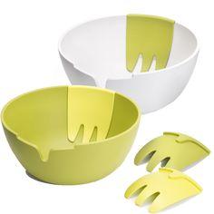 Joseph Joseph Hands-On Salad Bowl & Servers