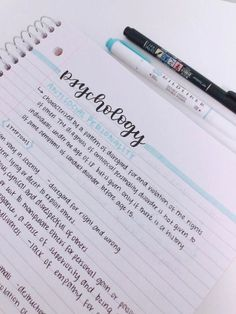 neat notes layout - notes neat - notes neat handwriting - neat notes study inspiration - how to write notes neatly - neat school notes - neat notes layout - neat study notes - how to take neat notes Life Hacks For School, School Study Tips, School Tips, Pretty Notes, Good Notes, Beautiful Notes, Psychology Notes, Learning Psychology, Study Habits