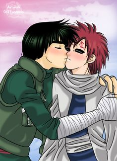 Kiss the kazekage by ~lucrecia on deviantART. MY OTP TO END ALL OTPS!