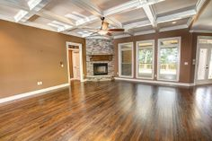 perfect??? Red Oak hardwood floors (sanded & stained on-site) with a Walnut stain - Houzz
