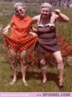 Tracie and I have decided to outlive our husbands and torment our children for years to come...circa 1965