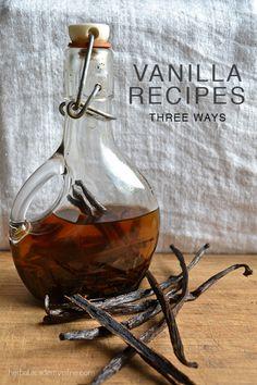 Vanilla Recipes: Three Ways | Herbal Academy of New England