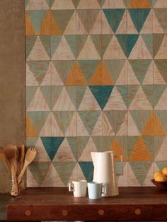timber wall tiles