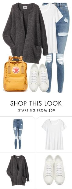 """Untitled #3031"" by elenaday on Polyvore featuring Topshop, Toast, Acne Studios, Yves Saint Laurent and Fjällräven"