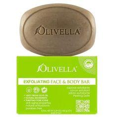 Olivella Bar Soap Face And Body Exfoliating 5.29 Oz