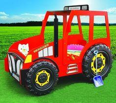 Kinderbett selber bauen traktor  Traktor Trecker Bett Kinderbett DIY | besondere Kinderbetten ...