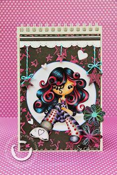Stamping Paper: Colección Chicas modernas
