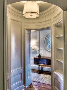 Elliptical Vestibule - traditional - hall - atlanta - by Stephen Fuller Designs