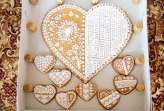Big gingerbread heart
