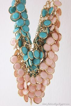 necklaces by Hennes & Mauritz (S/S 2012)