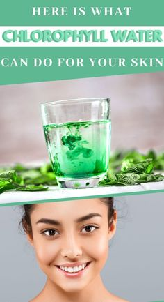 Chlorophyll is not just for plants. To learn more about chlorophyll water, how to make it, and what the 5 amazing skin benefits are, read on! Skin Care Regimen, Skin Care Tips, Tighter Skin, Beauty Regime, Acne Free, Organic Beauty, Clear Skin, Beauty Skin, Your Skin