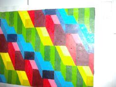 Dibentuk dari dua kata yaitu nir berarti tidak, mana berarti makna, jika digabungkan berarti tidak bermakna atau tidak mempunyai makna. Jika di artikan lebih dalam nirmana berarti lambang-lambang bentuk tidak bermakna, dilihat sebagai kesatuan pola, warna, komposisi, irama, nada dalam desain. Bentuk yang dipelajari biasanya diawali dari bentuk dasar seperti kotak, segitiga, bulat yang sebelumnya tidak bermakna diracik sedemikian rupa menjadi mempunyai makna tertentu.
