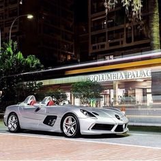 Mercedes-Benz SLR Stirling Moss in Monaco