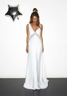That's the recipe of Rime Arodaky's latest bridal collection. If you're the confident and carefree bride who wants to hav… Wedding Dress Sleeves, Wedding Bridesmaid Dresses, Prom Dresses, Formal Dresses, Charlie Brear, Bridal Gowns, Wedding Gowns, Wedding Blog, Wedding Ideas