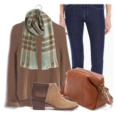 """""""8 Pieces, 5 Looks - Winter Capsule Wardrobe (outfit 1)"""" by abiggercloset ❤ liked on Polyvore featuring Madewell, women's clothing, women's fashion, women, female, woman, misses and juniors"""