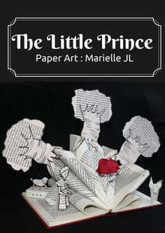 Paper Art Marielle JL - Altered book - The Little Prince