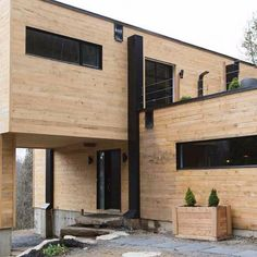 Built from two shipping containers in Quebec, Canada, this gorgeous home called La Maison Conteneur I (The Container Home I) provides its resident and...