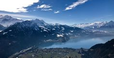View from the top of Harderkulm in Interlaken Switzerland #hiking #camping #outdoors #nature #travel #backpacking #adventure #marmot #outdoor #mountains #photography