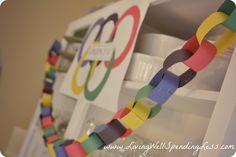Olympics Party Ideas   Kid-Friendly Olympics Projects   Olympics Food. #PocketYourDollars www.PocketYourDollars.com