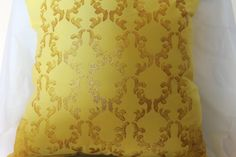Hey, I found this really awesome Etsy listing at https://www.etsy.com/listing/397988213/yellow-and-gold-decorative-pillow-throw