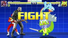 Rainbow Dash And Nutty The Squirrel VS Jason Voorhees & Red Ranger In A MUGEN Match / Battle / Fight This video showcases Gameplay of Rainbow Dash From The My Little Pony Friendship Is Magic Series And Nutty The Squirrel From The Happy Tree Friends Series VS Jason Voorhees From Friday The 13th Series And The Red Ranger From The Mighty Morphin Power Rangers Series In A MUGEN Match / Battle / Fight