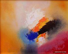 José Contreras Destellos Dorados Categoría: Pintura.Técnica: Oleo sobre HDF. Medidas: 40 x 50 cms.Fecha: 2015.Enmarcada: Si. Firmada: Si.  #arte #art #josecontreras #arteabstracto #abstractart #gael #pasionporelarte #galeriartenlinea