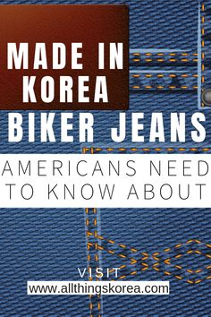 Made In Korea Biker Jeans Americans Need To Know About - Fashion Trends Korean Winter, Korean Summer, Korean Fashion Winter, Spring Fashion, Korean Clothing Brands, Korean Brands, Fashion Pants, Style Fashion, Fashion Trends