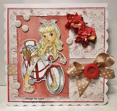 Cute Bike - Digital Stamp