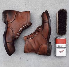 Red Wing Iron Rangers.