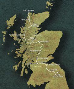 Scottish National Trail-470mi