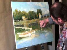 Мастер класс художника Игоря Сахарова  Как это делал Клод Моне