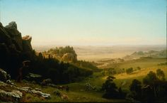 File:Albert Bierstadt - View from the Wind River Mountains, Wyoming ...