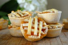 Cook Au Vin: Mini Peach Pies for Josie