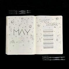 Bullet Journal - Setup de Maio