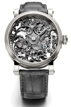 Grieb & Benzinger Grey Tulip watch