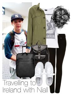 """Travelling to Ireland with Niall"" by style-with-one-direction ❤ liked on Polyvore featuring Topshop, Stela 9, Toast, Burberry, women's clothing, women's fashion, women, female, woman and misses"