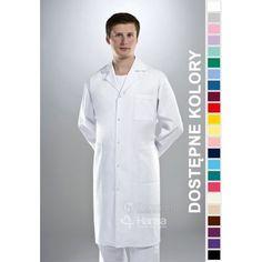 Fartuchy medyczne ze sklepu Dersa to połączenie funkcjonalności z modnym wyglądem. | Fartuch męski Hansa 2001 | odzież dla lekarza |