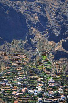 Valle Gran Rey. Isla de La Gomera, Canary Island.