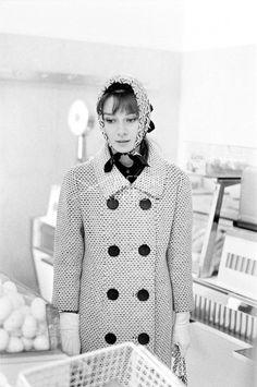 Rare Audrey Hepburn — Audrey Hepburn photographed by Elio Sorci while...