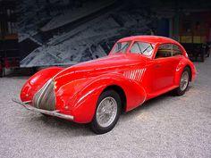 1936 ALFA ROMEO 8C 2900A BERLINETTA - coachwork by Carrozzeria Pinin Farina of Turin.