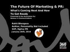 the-future-of-marketing-how-social-media-is-like-a-grizzly-bear by Rohit Bhargava via Slideshare