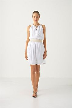 WHITE HOT: Crisp white makes for simple sophistication. Country Road WOMAN Summer 2012