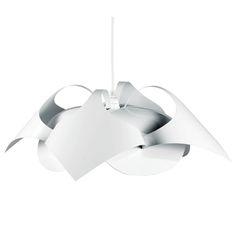 Le Klint 140 Joker Suspension Lamp, White, Le Klint #design #royaldesign #designlight #light #lighting #decor