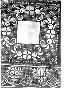 Gallery.ru / Фото #5 - γιασεμ - ergoxeiro Crochet Doily Diagram, Filet Crochet, Crochet Patterns, Crochet Placemats, Crochet Doilies, Diy And Crafts, Art, Rugs, Dining Table Runners