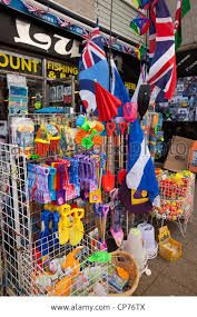 Seaside beach shops - used to buy my bucket/spade & sandcastle flags at one just like it.